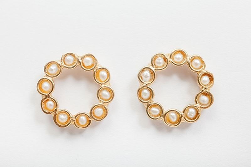 Picture of MINI BOTERO EARRING PEARL