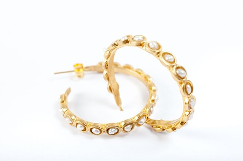 Picture of LOOP EARRING PEARL