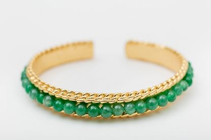 Foto de ROW BANGLE GREEN