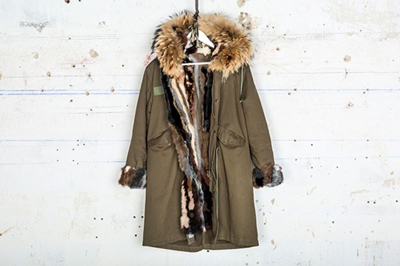 Picture of MINK MILITARY PARKA & FOX -SHORT