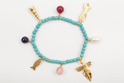 Picture of CHARM BRACELET TURQUOISE