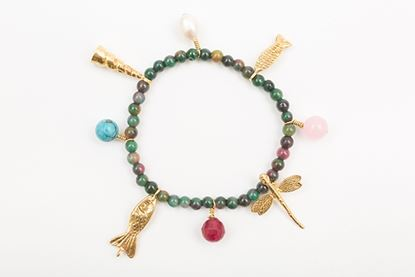 Picture of CHARM BRACELET TOURMALINE