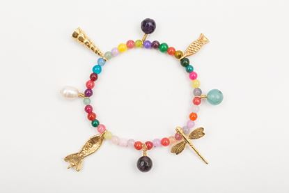 Picture of CHARM BRACELET MULTICOLOR