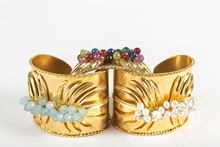 Picture of TROPICAL CUFF BRACELET PEARL