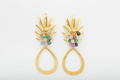 Picture of PINEAPPLE EARRING MULTICOLOR