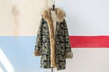 Foto de FUR CAMOUFLAGE LONG PARKA RABBIT/FOX - M