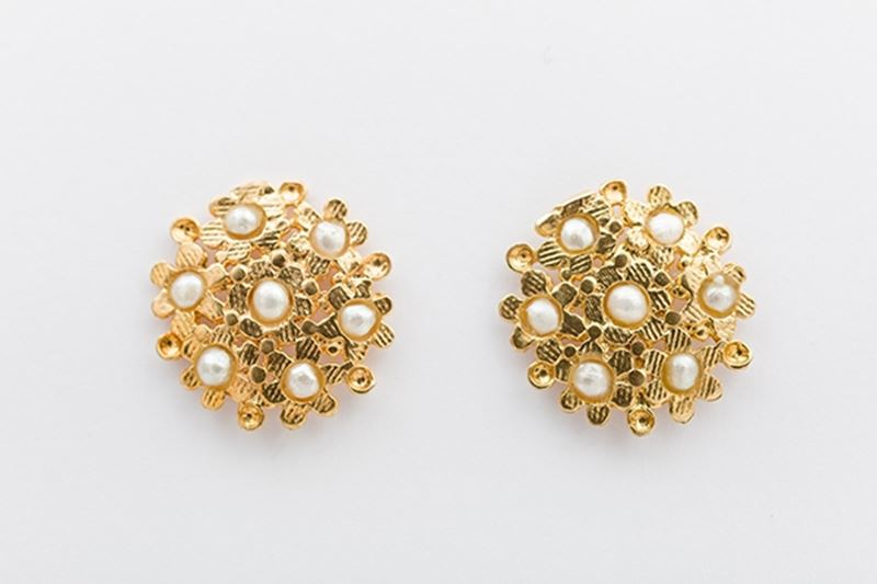 Foto de BLOSSOM EARRINGS- PEARL