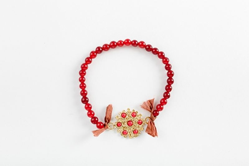 Picture of BLOSSOM BRACELET - RED