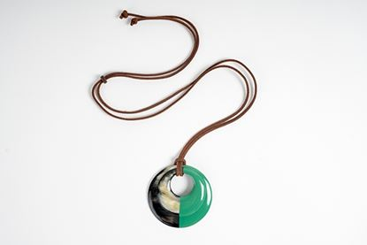 Picture of MIRÓ HORN PENDANT GREEN