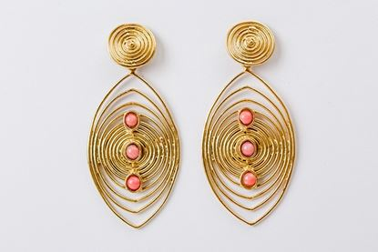 Picture of MASAI EARRING - CORAL