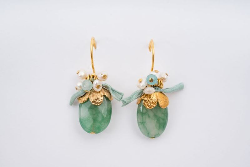 Picture of GRAPE EARRING GREEN