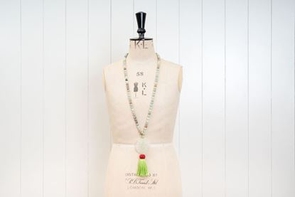 Foto de JADE LONG PENDANT - GREEN