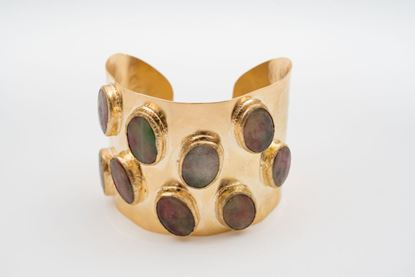 Picture of ROMAN CUFF BRACELET - TOURMALINE