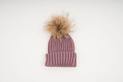 Picture of MINI POMPON HAT - PINK