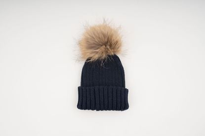 Foto de MINI POMPON HAT - NAVY BLUE