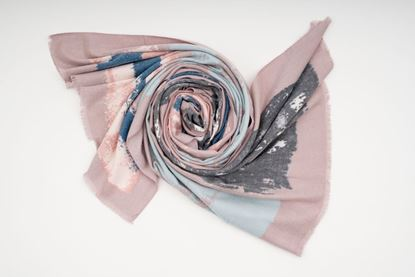 Picture of TIE DYE PASHMINA - PINK