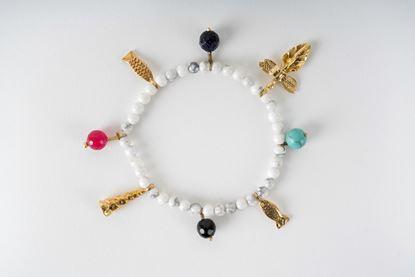 Picture of CHARM BRACELET MARBLE