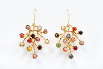 Picture of PUNTILLISTA EARRING MULTICOLOR.