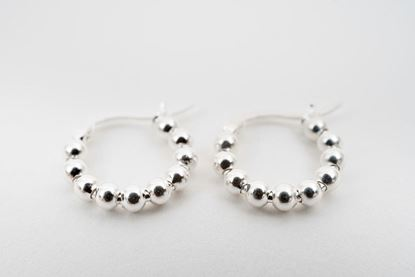 Picture of MINI HOOP EARRING - SILVER