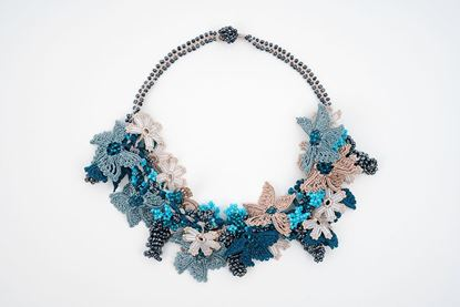 Picture of BOUQUET NECKLACE - COBALT