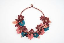 Picture of BOUQUET NECKLACE - BURGUNDY