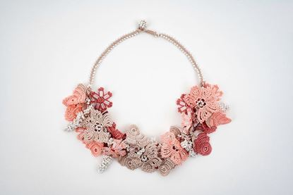 Picture of BOUQUET NECKLACE - PALE PINK