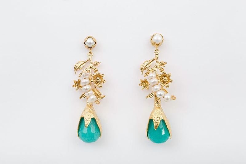 Picture of NEW LEA EARRING - TURQUOISE