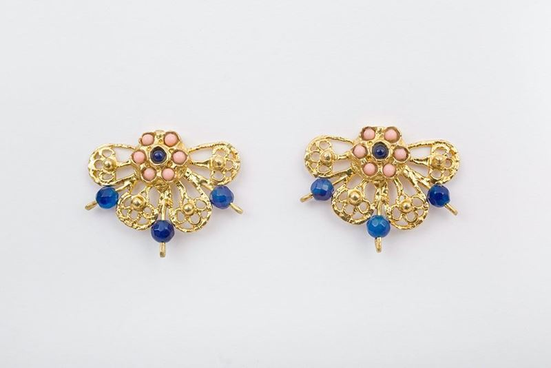 Picture of CHARRO EARRING - BLUE