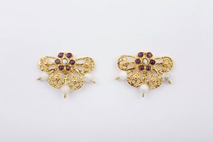 Picture of CHARRO EARRING - WHITE