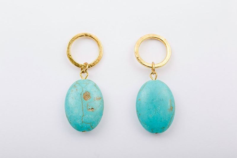 Picture of MATILDA EARRING - TURQUOISE