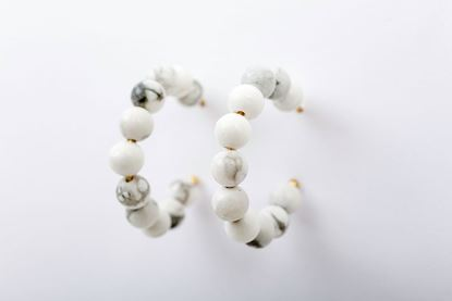 Picture of JELLY EARRING - WHITE
