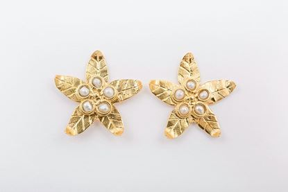 Picture of MINI LILY EARRING - PEARL