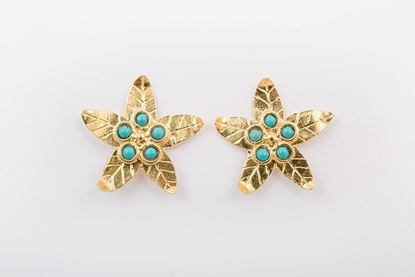 Picture of MINI LILY EARRING - TURQUOISE