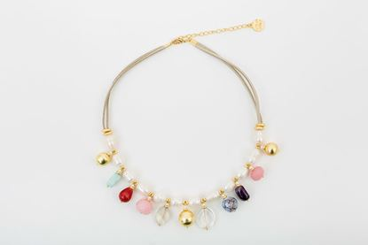 Picture of CALIMA NECKLACE - PEARL