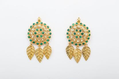 Picture of WESTERN EARRING - GREEN