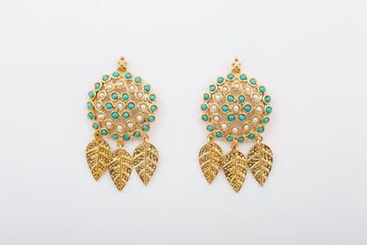 Picture of WESTERN EARRING - TURQUOISE