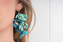 Picture of GLICINA EARRING - TURQUOISE