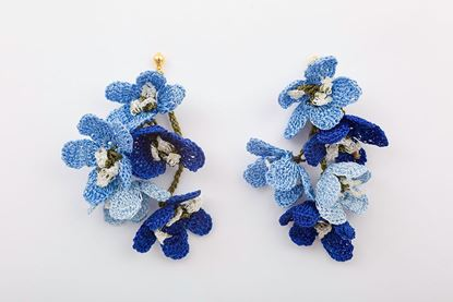 Picture of GLICINA EARRING - BLUE