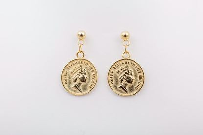 Picture of COIN EARRING