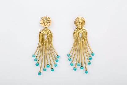 Picture of PEACOCK EARRING TUQUESA