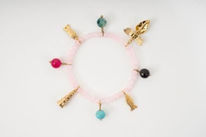Picture of CHARM BRACELET PINK