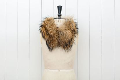 Picture of SHORT COLLAR FOX WITH CLIPS