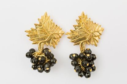 Picture of NEW GRAPE EARRING - BLACK