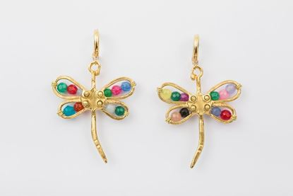 Picture of DRAGONFLY EARRING -MULTICOLOR