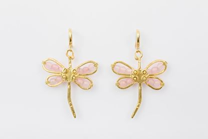 Foto de DRAGONFLY EARRINGS - PINK