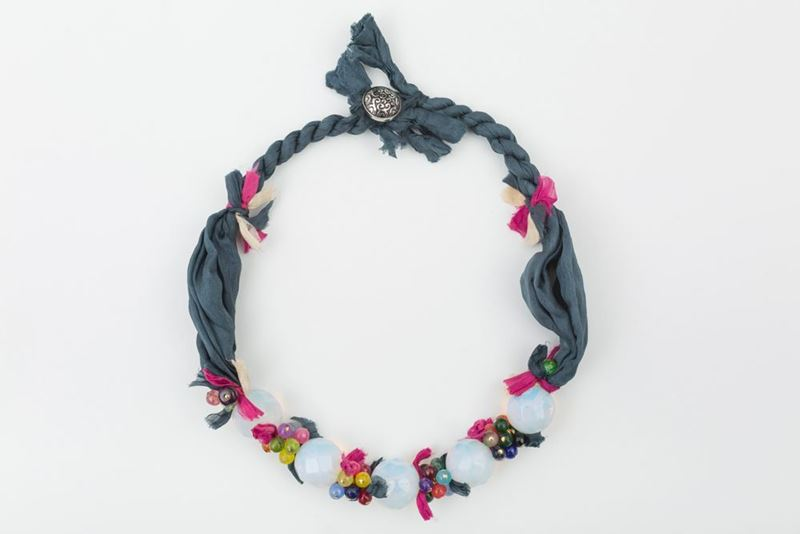 Picture of BLUEBERRY NECKLACE - MULTICOLOR