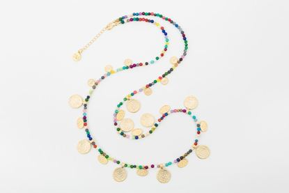 Picture of ORIENTAL NECKLACE LONG MULTICOLOR