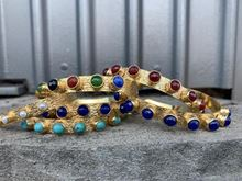 Picture of KATERINA BRACELET  WIDE - TURQUOISE