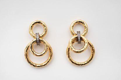 Picture of CHAIN EARRING SHORT
