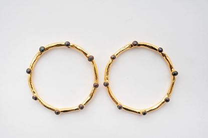 Picture of HOOP DOT EARRING